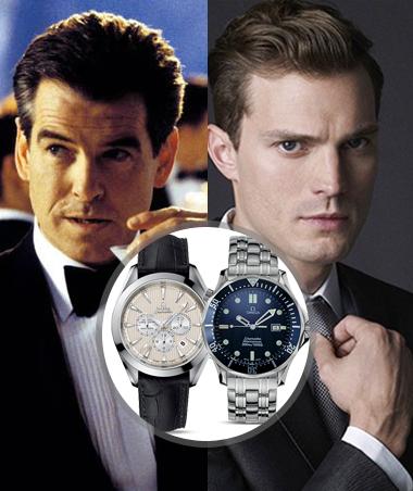 《五十度灰》霸道总裁和007爱同个腕表品牌