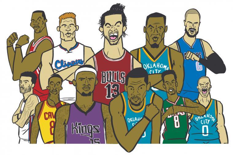 邪恶漫画之消灭坏小孩 漫画NBA坏孩子犯二轶事:考神脑残失控 JR偏爱解鞋带