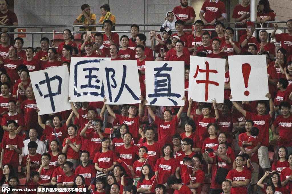 中国球迷是最可爱的人!