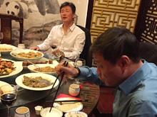 郝海东范志毅合唱《我的中国心