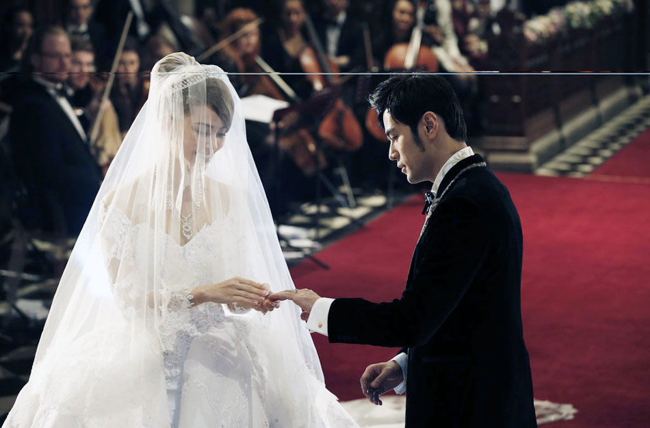 周杰伦昆凌婚礼现场曝光图片