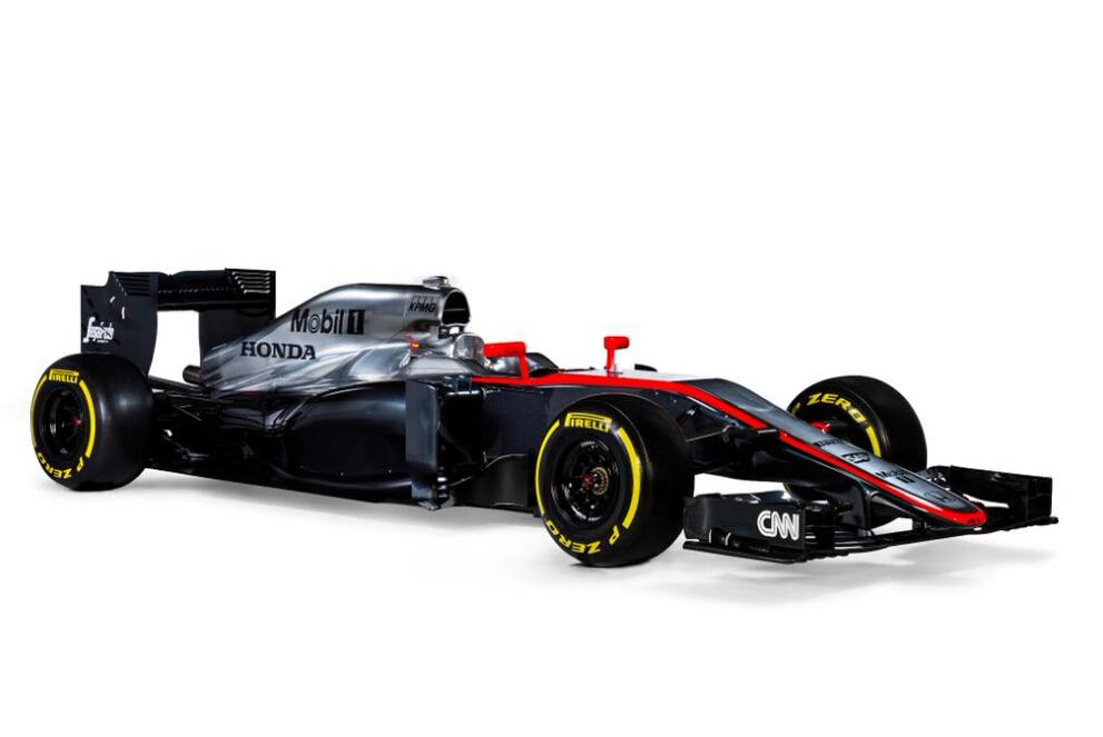 迈凯轮车队公布新车 阿隆索巴顿拍摄写真