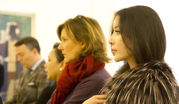 中国女孩陆陆lulu受Chanel邀请参观毕加索博物馆