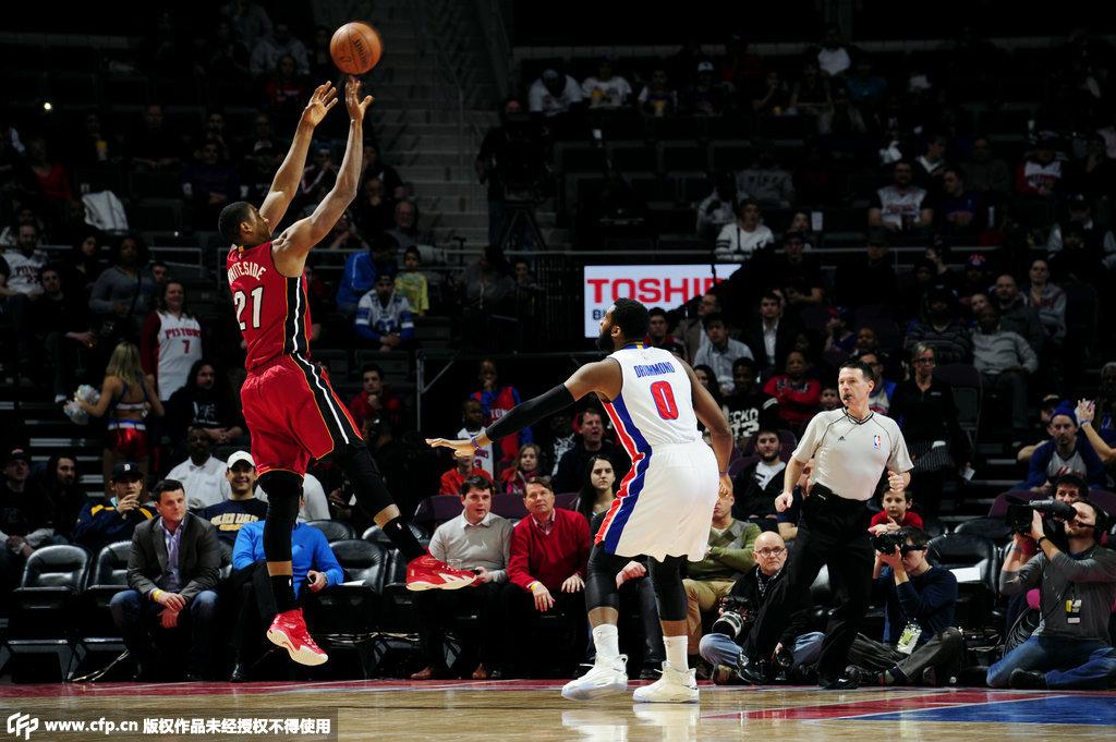 NBA-热火VS活塞