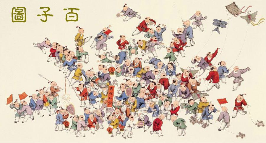 """淡雅清丽:千百年流传的绝版""""百美图"""""""