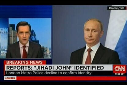CNN报道英国恐怖分子时误用普京照片(图)
