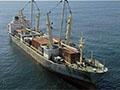 疑中国走私军火船被扣留 载260万支雷管