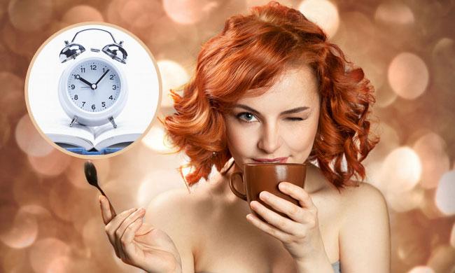 按时段喝咖啡轻松减3公斤