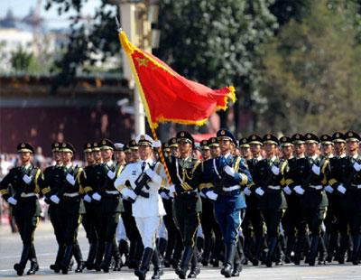 传解放军阅兵打破惯例不在天安门 邀多国军队