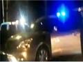 江西警察与嫌犯当街激战 突遭车内暗枪袭击