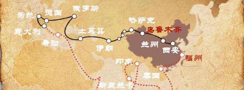 中国再出发:一张图看懂一带一路