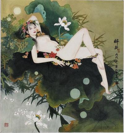 知名画家项维仁诉彭立冲抄袭 被告称临摹也是创作