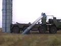 实拍俄军S-300导弹发射失败 直坠地面爆炸