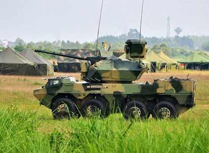 中国四代高炮可自主编程组合弹药 解放军全球先用