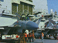 3架最新歼-15登辽宁舰 或将参加抗战阅兵
