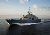 曝美舰闯中国岛礁前紧急改装 做海战准备