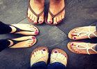 给脚丫点颜色 今夏最流行足部穿搭方案