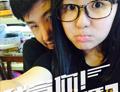 金龟子刘纯燕16岁女儿和男友亲密自拍