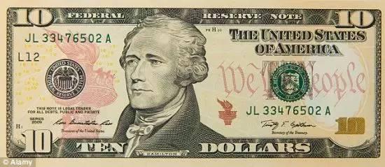 女性头像百年来首次登上美钞:从钞票看性别平等