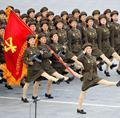 朝鲜盛大阅兵