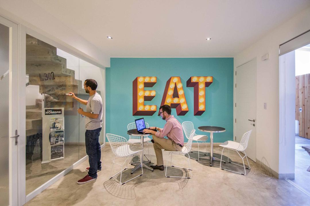 社区合伙办公室设计 充分利用空间