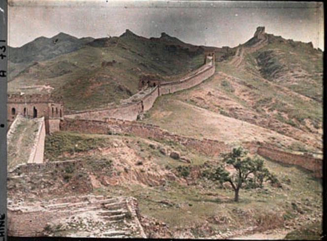 百年前法国人拍摄的彩色中国 - 雷石梦 - 雷石梦(观新闻)