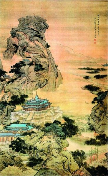 画家十三科 之 界画楼台 赏古画中的避暑行宫