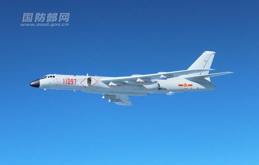空军发言人:中国空军飞出第一岛链1000余公里【组图】 - 春华秋实 - 开心快乐每一天.春华秋实