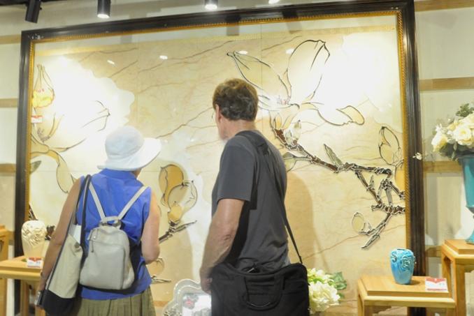 美国陶艺家,东鹏瓷砖,文化交流