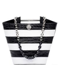 10件黑白配饰让你时髦的很高级
