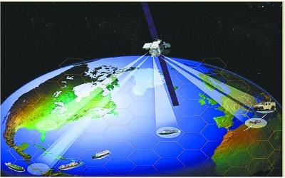 移动卫星也将连上宽带 因特网将无所不在