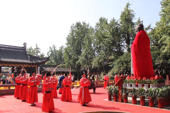 弘扬仁爱礼乐 南京夫子庙举行祭孔大典