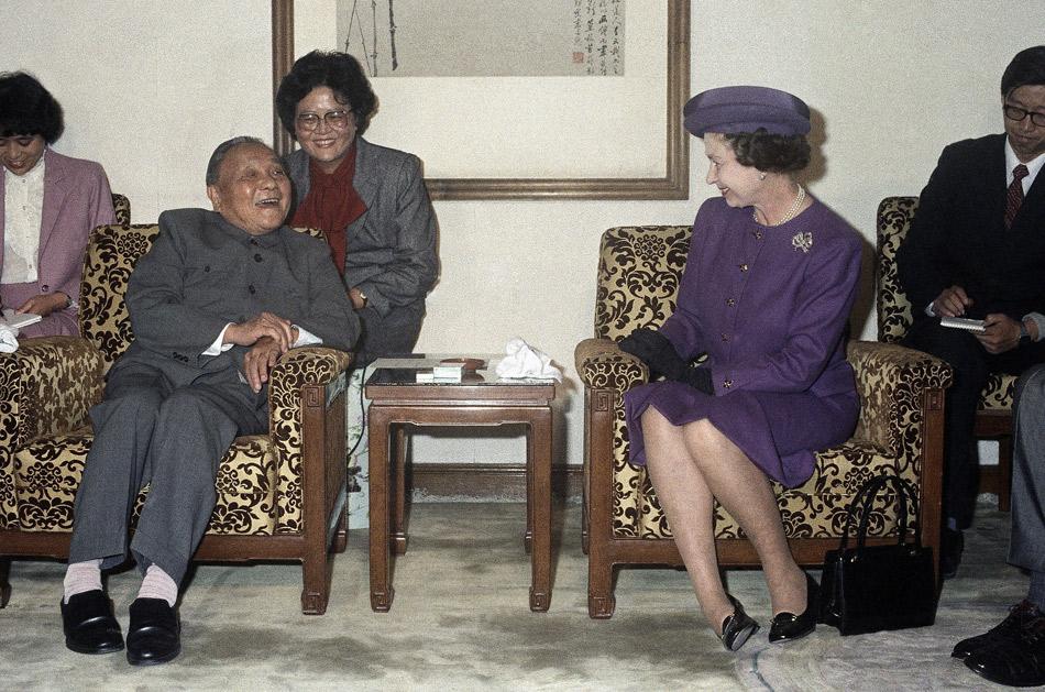 英国女王见过哪些中国领导人图片