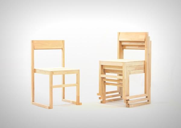 在家里摆放着木质的凳子总是要比塑料凳更有质感,可是木质的凳子不
