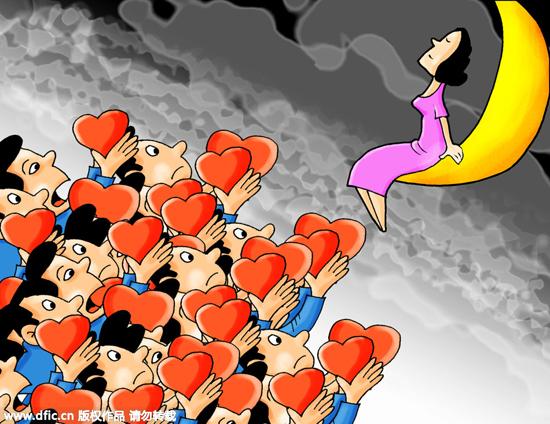 大学教授谈光棍危机:穷人可以合娶一个老婆?(图)