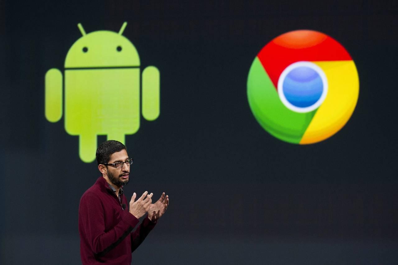 传谷歌将把chrome操作系统融合到android中画画脸教程图片