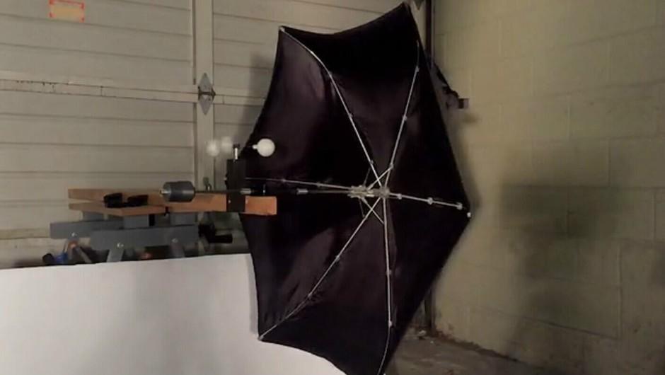柏树一样坚固的3D打印雨伞 配独立悬架系统的照片 - 21