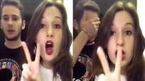 外国美女在中国用ATM取钱 男友瞬间醉了!