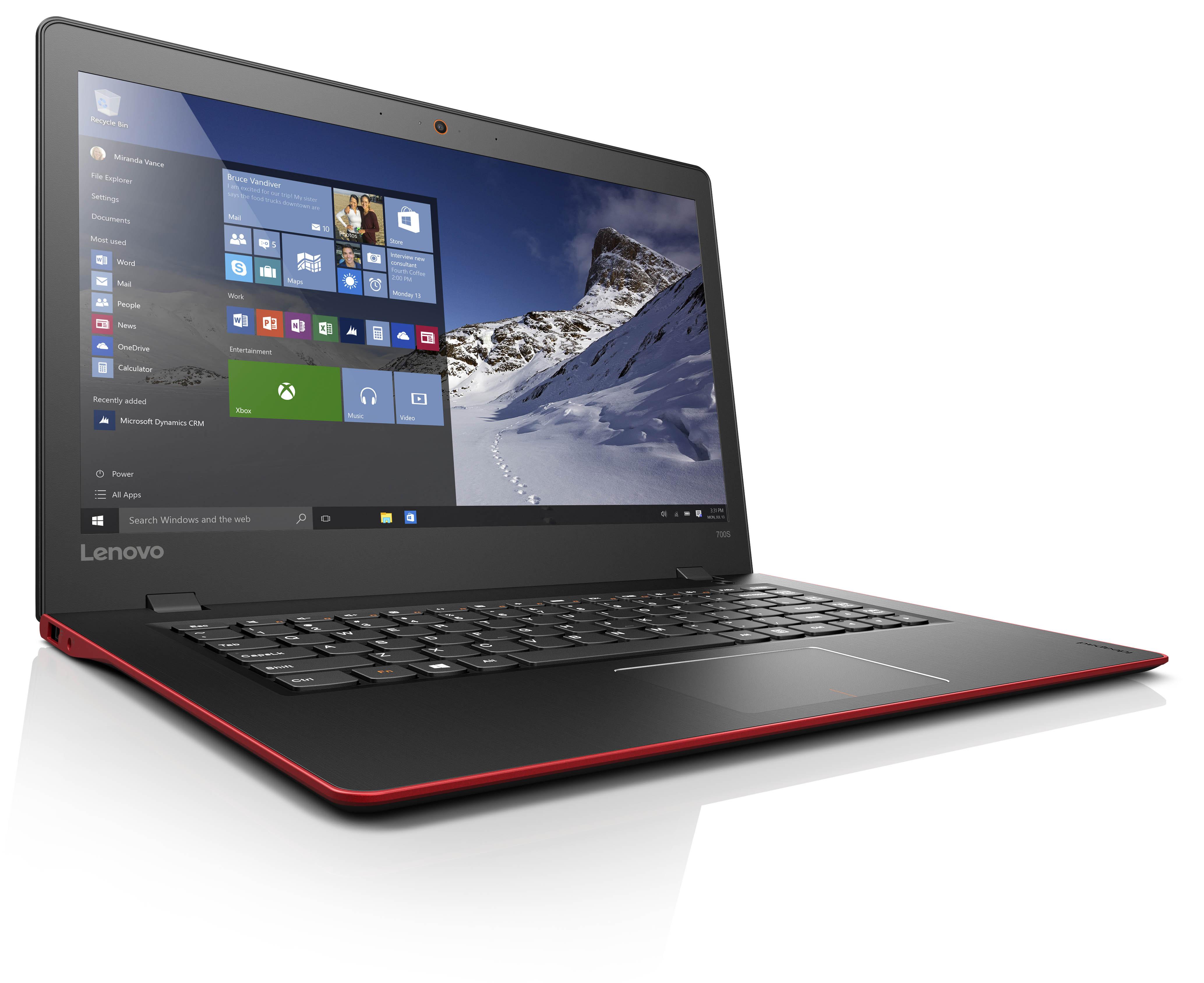 联想推最薄14寸笔记本ideapad 700S 售4699元