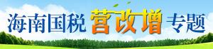 海南国税营改增专题