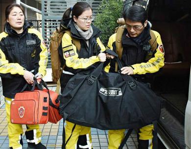 杭州派出大陆首支民间救援先遣队前往高雄