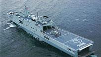 中国5万吨075登陆舰开建 或将赴海外反恐