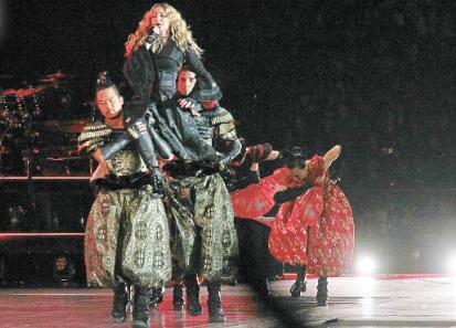 [明星爆料]麦当娜香港开唱迟到2小时 差5分钟破最迟纪录