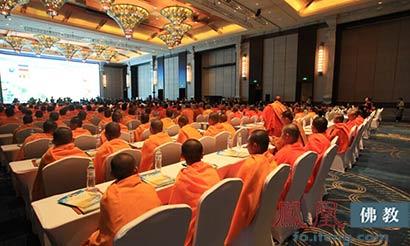 盛况空前 首届南传佛教高峰论坛开幕