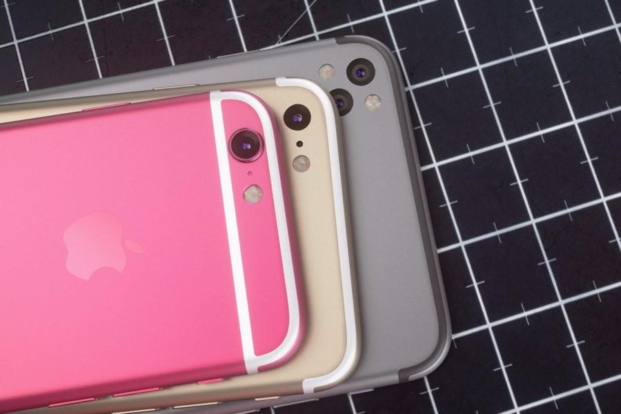 双摄像头iphone概念图赏