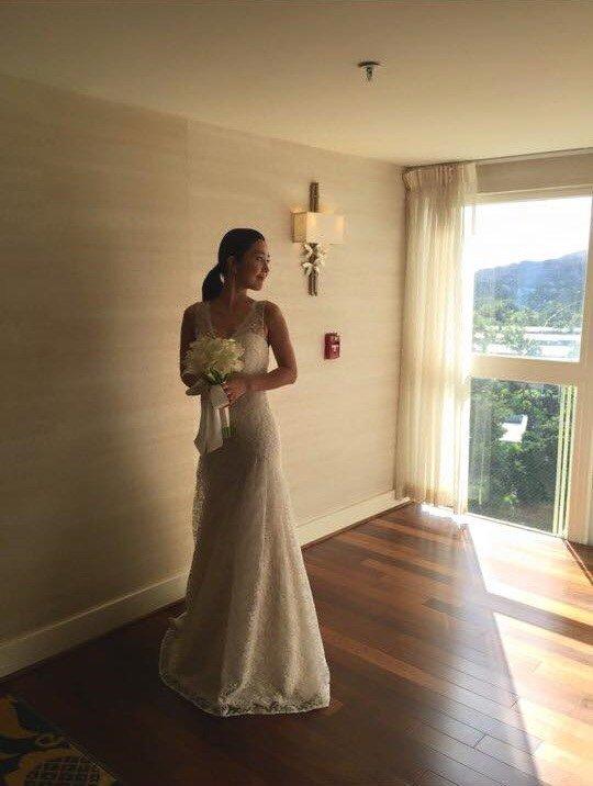 [明星爆料]韩女星李真夏威夷出嫁 婚礼浪漫如童话