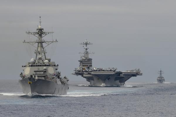 外媒:美国航母战斗群1日闯入南海 - 中国娃 - 中日关系