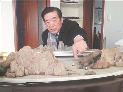孟河斧劈石盆景制作工艺入