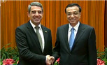 李克强会晤保加利亚总统 提旅游签证等问题