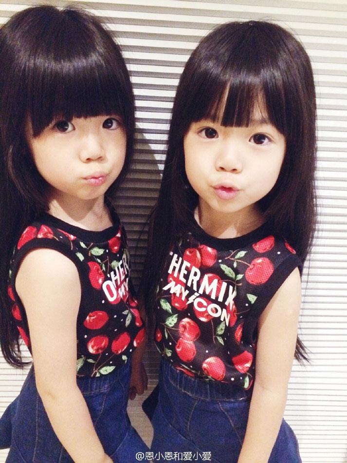 1/20 近日,常熟一对双胞胎小姐妹走红网络,甜美可爱的小姐妹每天都被